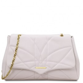 Soft leather shoulder bag- Ariana